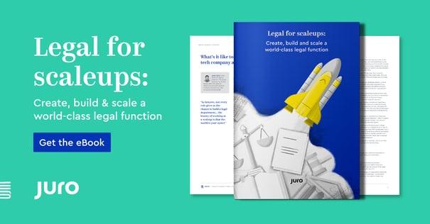 Juro legal for scaleups eBook