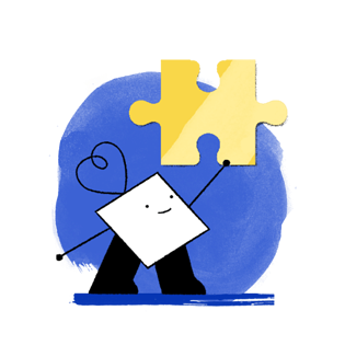 business-contracts-character-holding-a-yellow-piece-of-jigsaw-puzzle-min