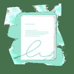 Juro guide to eSignature in Salesforce - Signed document