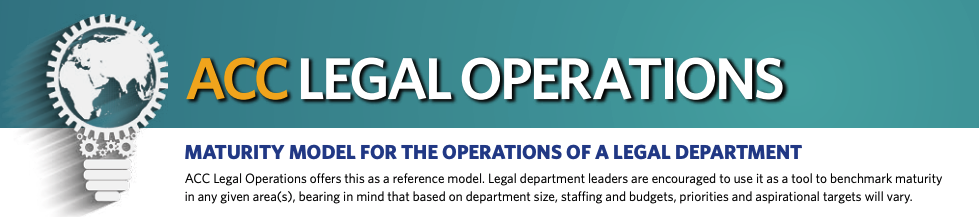 What is legal operations?
